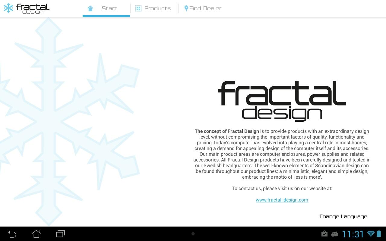 FRACTAL DESIGN - screenshot