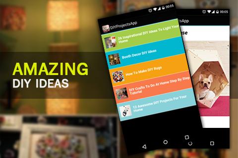 DIY Projects App