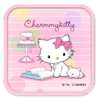 Charmmy Kitty PinkNote Theme icon
