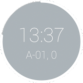 Decimal Time Clock Widget