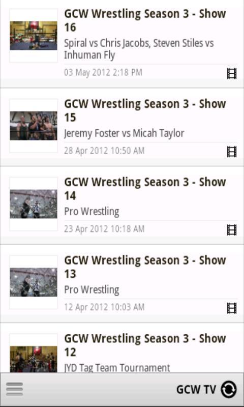 GCW Pro - screenshot