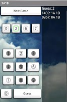 Screenshot of 3A1B Four Number Guessing