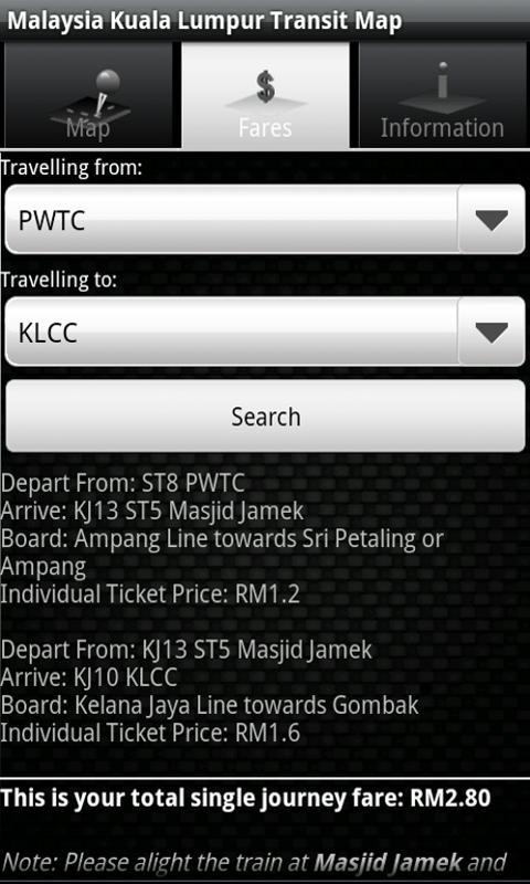 Malaysia Kuala Lumpur Transit- screenshot