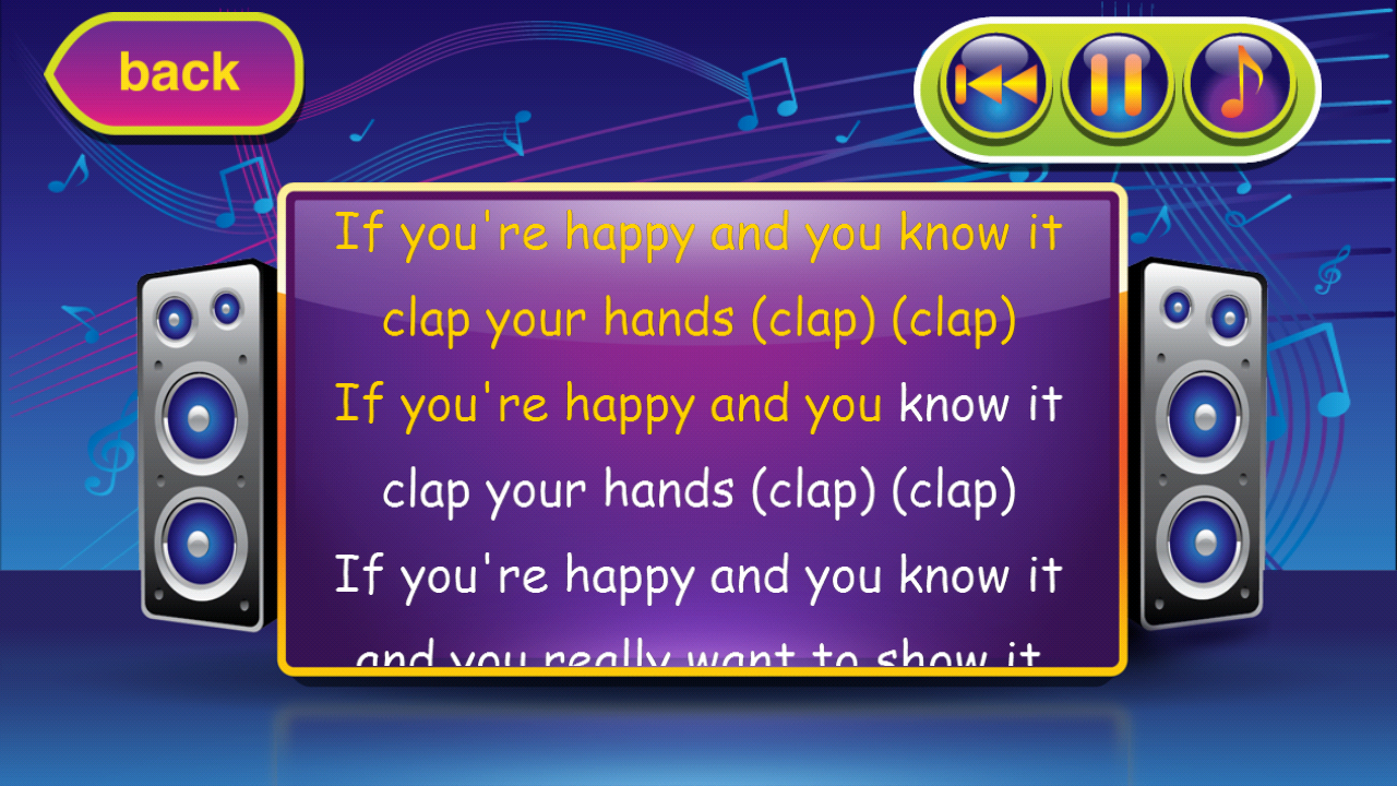 Karaoke for Kids - screenshot