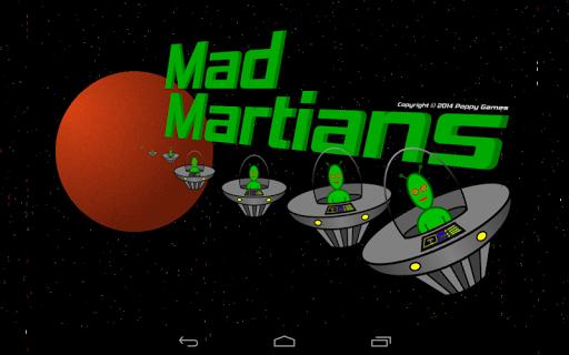Mad Martians space adventure