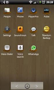 Woodycon ADW Theme screenshot