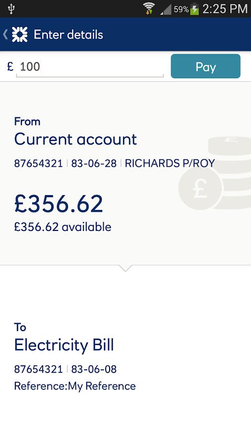 Royal Bank, RBS - screenshot
