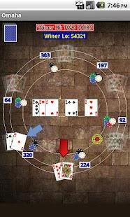 Omaha Poker- screenshot thumbnail
