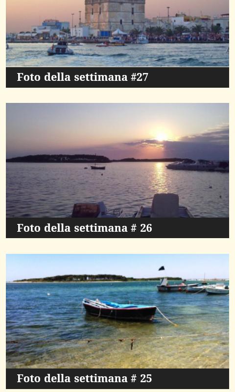 VisitPortoCesareo - screenshot