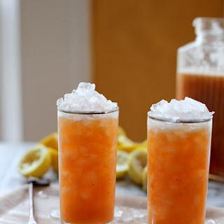 Peach and Cardamom Lemonade