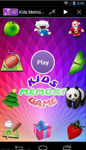 Kids Memory Training Game