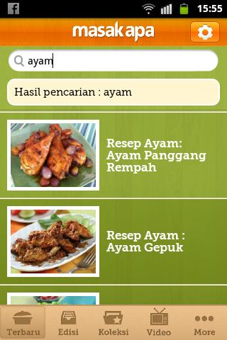 Masak Apa - screenshot