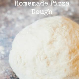 Best Homemade Pizza Dough.