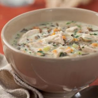 Cream of Turkey & Wild Rice Soup