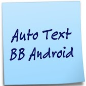 Auto Text BB Android