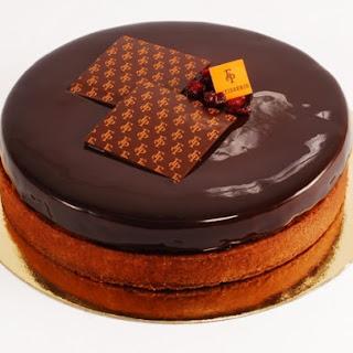Francois Payard's Cranberry Chocolate Tart