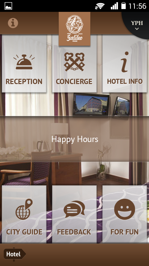 Hotel Galileo- screenshot