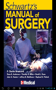 Schwartz's Manual of Surgery - screenshot thumbnail