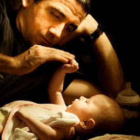Daddys girl by Brian Miller - People Family ( canon, dad, dad with kids, family, daughter, fathers day, dad and kid, holding hands, father )