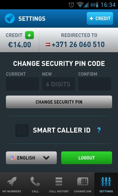 VIR2SIM - screenshot