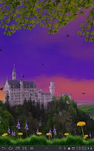 Castle View Live Wallpaper - screenshot thumbnail