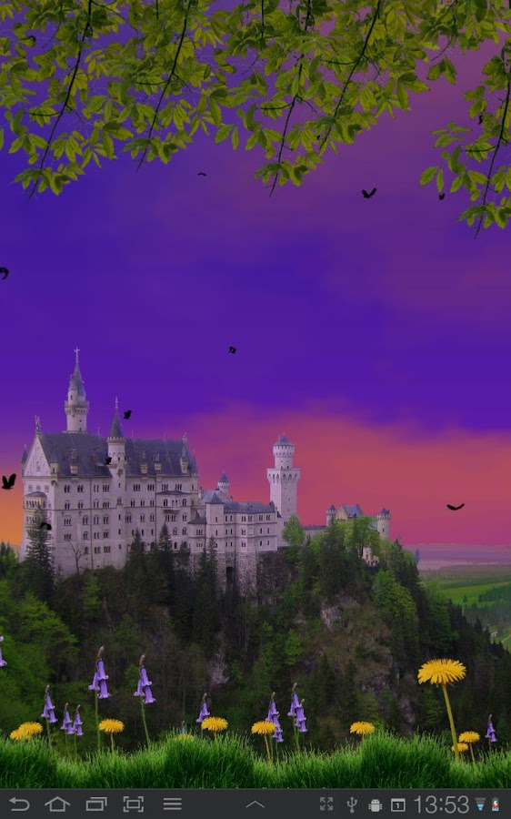 Castle View Live Wallpaper - screenshot