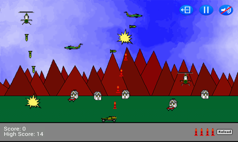 Air Defense Lite- screenshot
