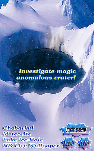 Meteorite Lake Ice Hole HD