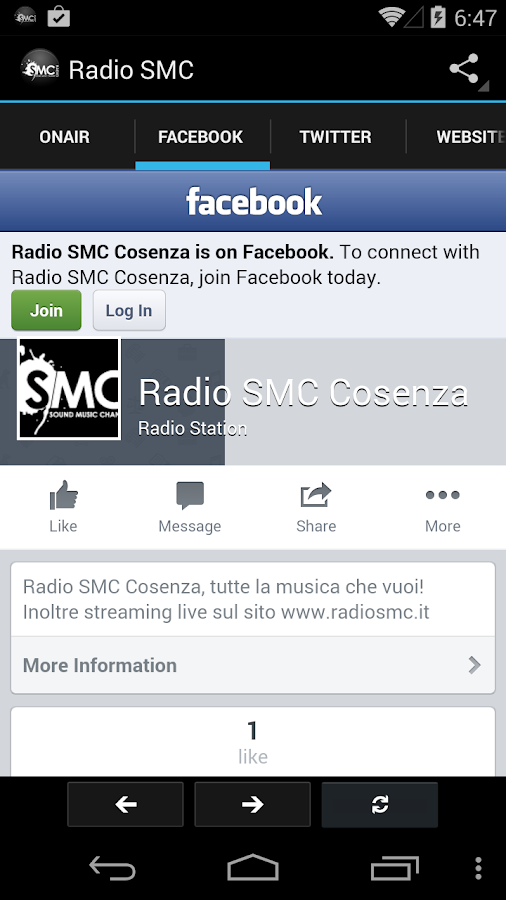 Radio SMC- screenshot