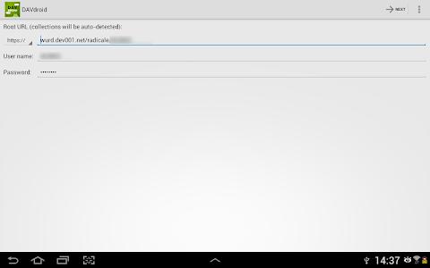 DAVdroid – CalDAV/CardDAV Sync v0.6.11