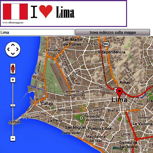 Lima map