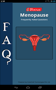 FAQs in Menopause- screenshot thumbnail