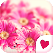 Cute wallpaper★Paris Flowers