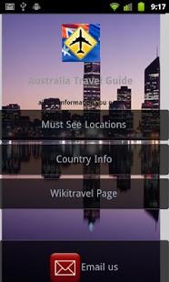 Australia Travel Guide- screenshot thumbnail