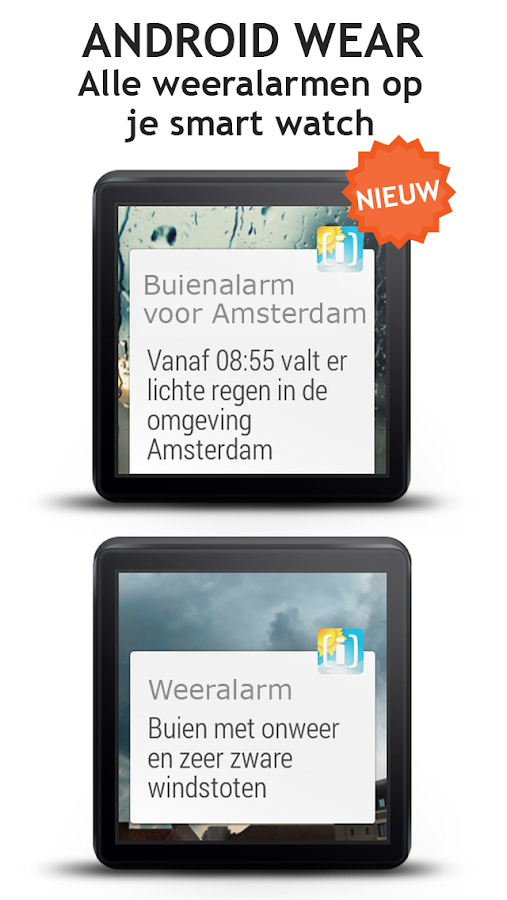 Weerplaza buienalarm en radar - screenshot