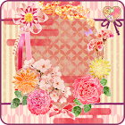 Japanese Flower Live Wallpaper icon