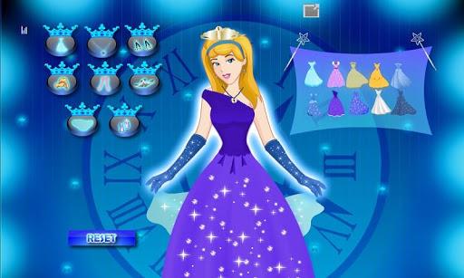 灰姑娘公主裝扮