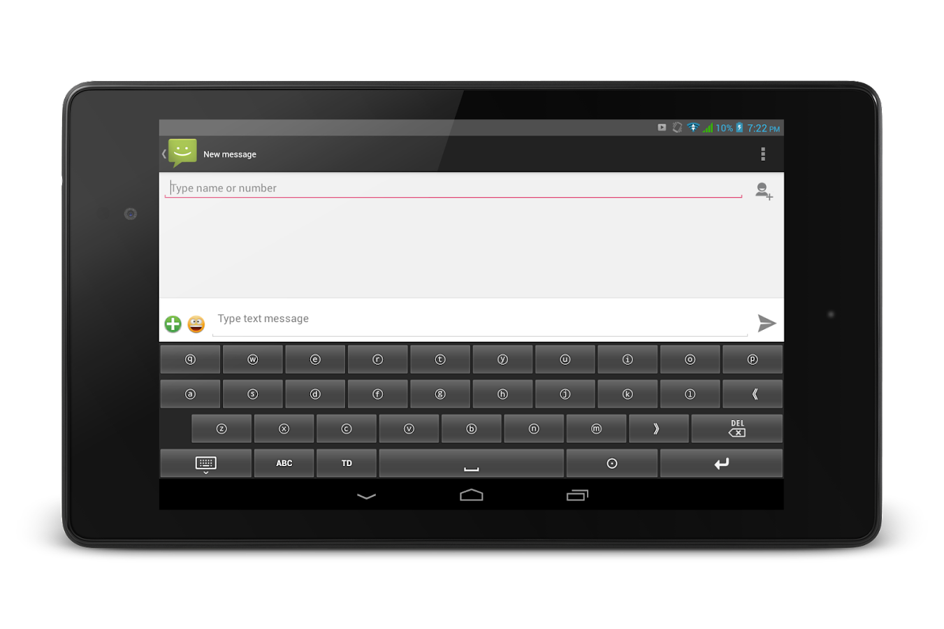 TypeDroid Pro with Keyboard- screenshot