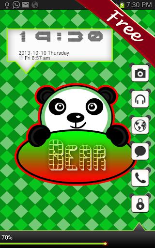 Panda Bear Go Locker