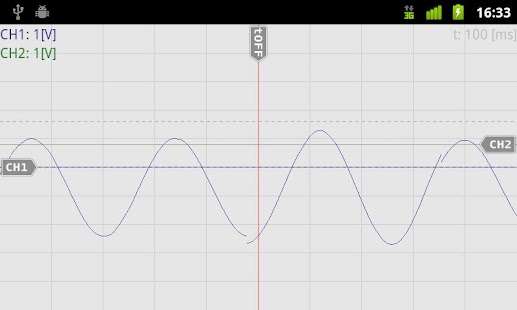 OsciPrime Oscilloscope Legacy- screenshot thumbnail