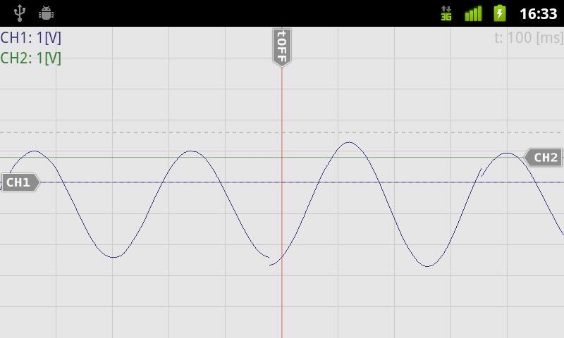 OsciPrime Oscilloscope Legacy- screenshot