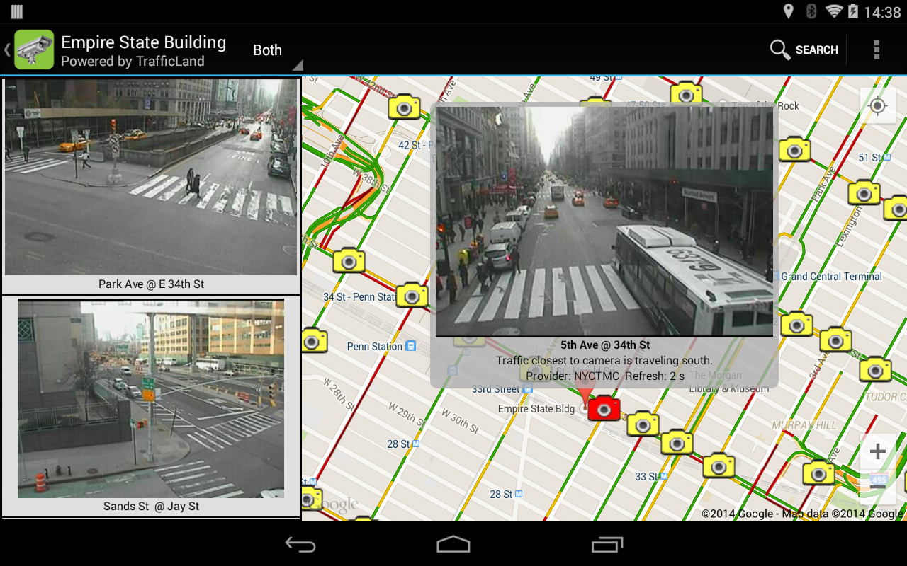 Tri-State Traffic Cameras- screenshot