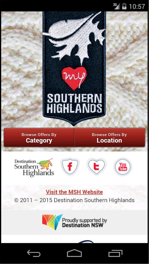 My Southern Highlands - screenshot