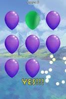 Screenshot of Shooting Balloons Games