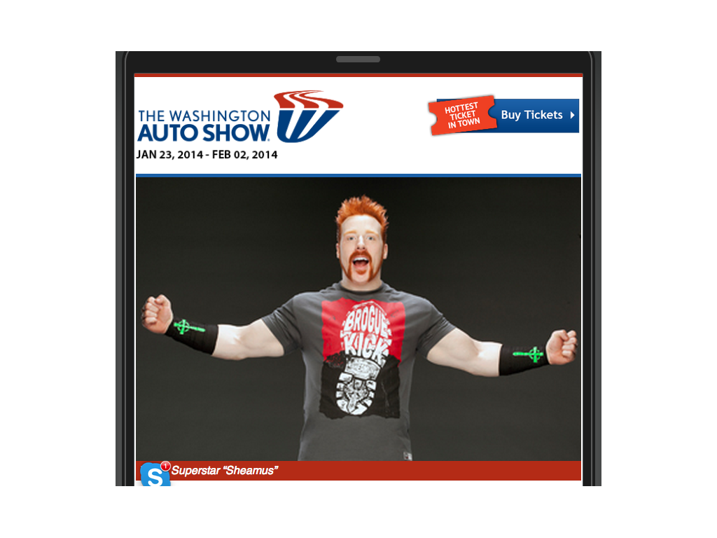 The 2014 Washington Auto Show - screenshot