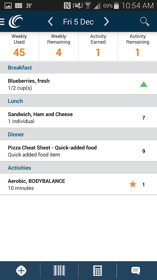 Weight Watchers Mobile AU- screenshot