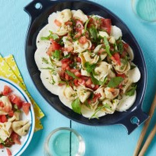 Tortellini Salad with Fresh Herb and Tomato Vinaigrette