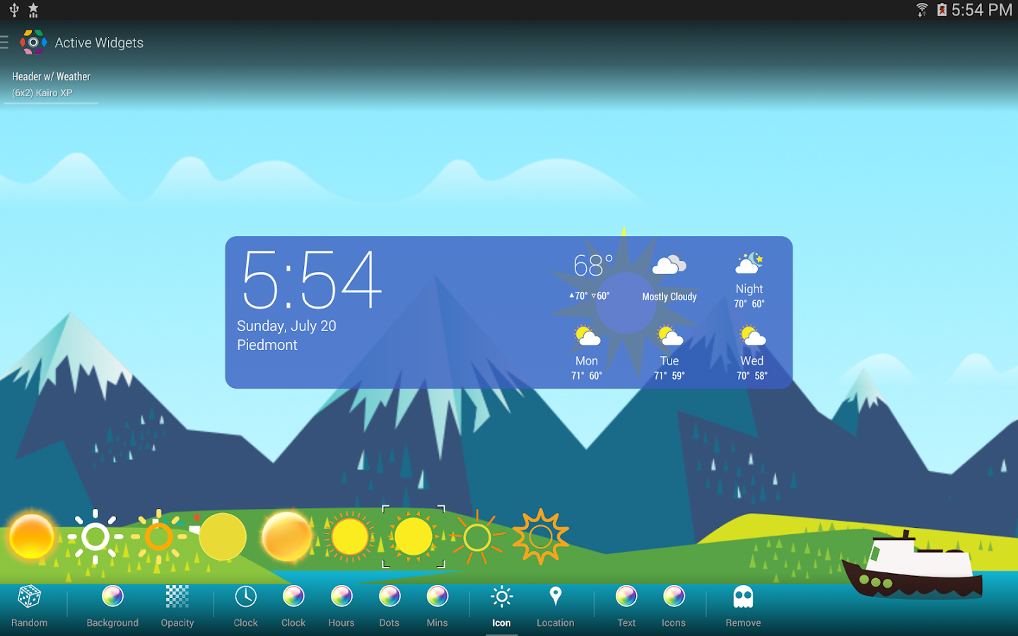 COLOR WEATHER ICONS FOR HDW- screenshot