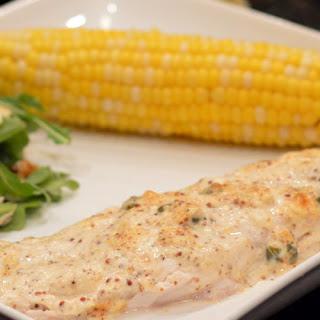 Mustard-Roasted Fish