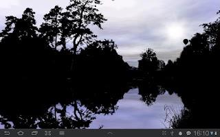 Screenshot of Forest Pond Live Wallpaper
